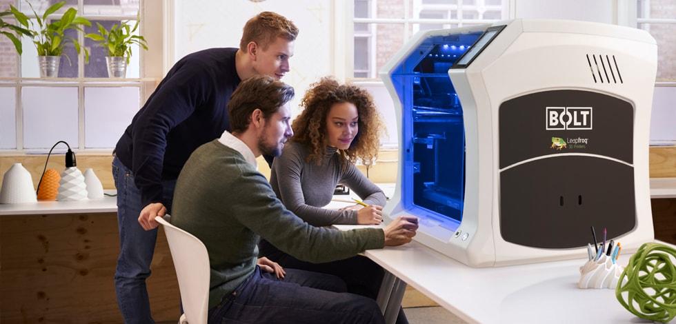 Bolt Pro 3D printer, Leapfrog