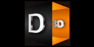 Daemon3D Print UK logo
