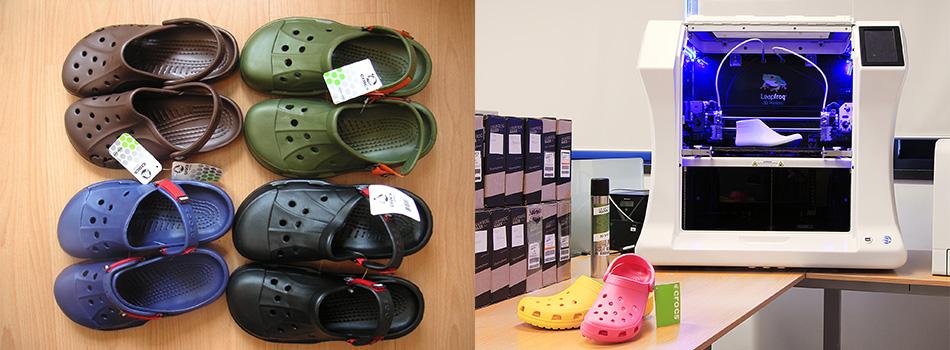 Crocs Testimonial, Leapfrog, Bolt Pro 3D printers