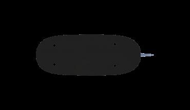 Nylon filament material 3d fin underside