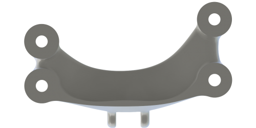 Engineering pla 3d printed bracket 3