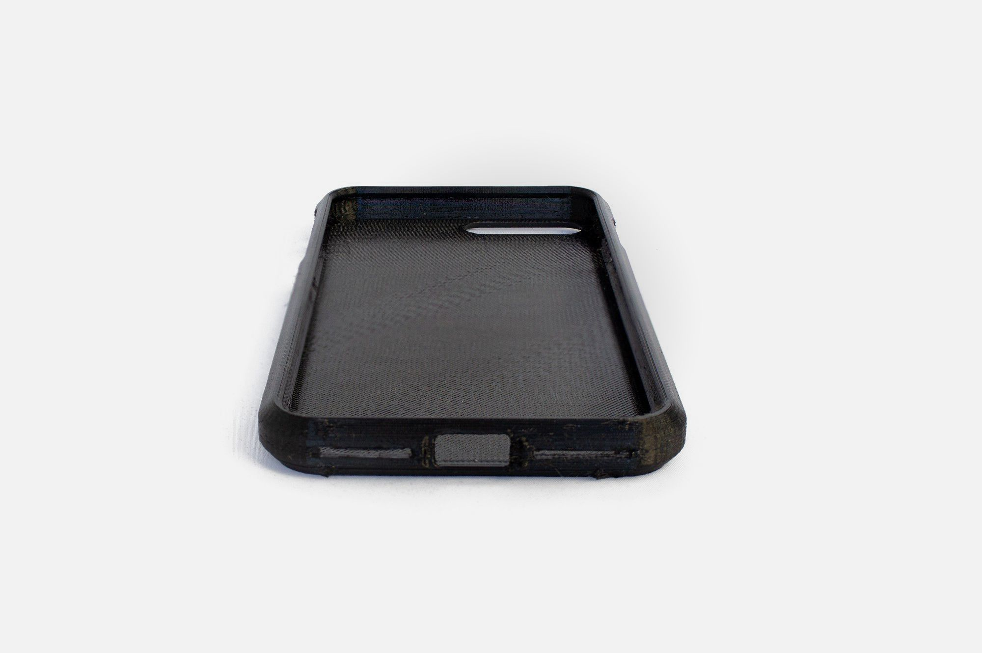 3d printed TPU Flex filament model phone case