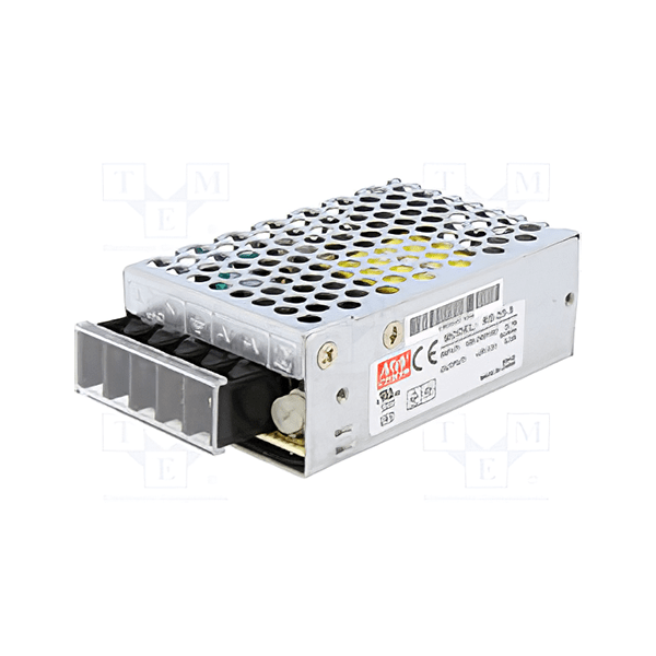 Mean Well RS 25 5 Power Supply